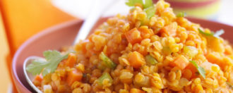 Linsen-Curry vegan