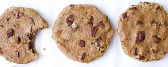 Schoko-Kichererbsen-Kekse