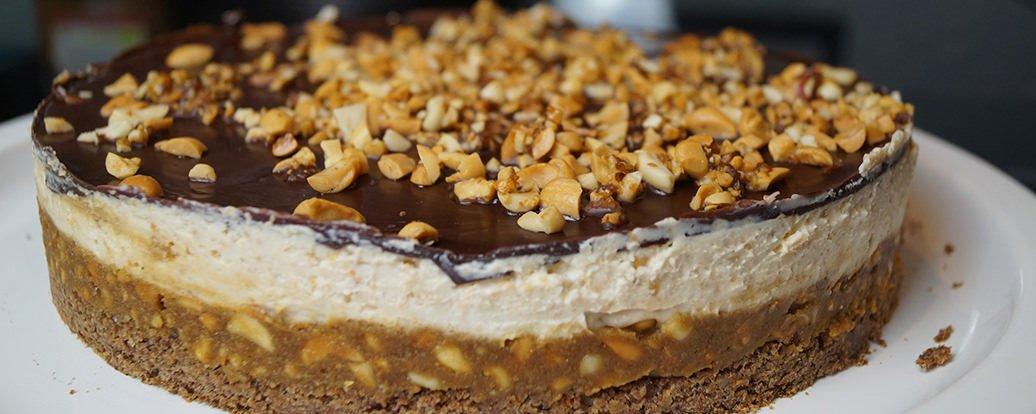 Vegane Snickers Torte Vegan Taste Week