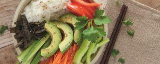 Sushi Bowl vegan