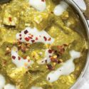 Tofu in Spinat-Curry
