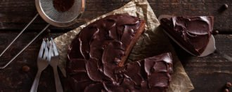 Schokoladencremetorte vegan