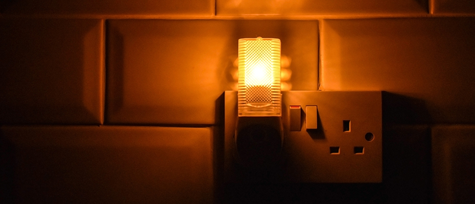 making home safe by adding night light in room