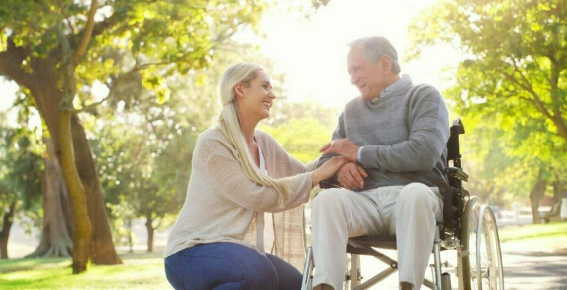 A woman and her father bond after he moves to assisted living