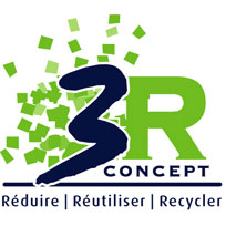 Recyclage déchets_3R concept_background
