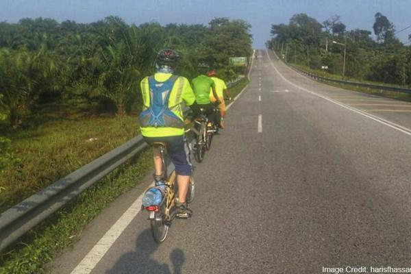 Home list cycling on highways