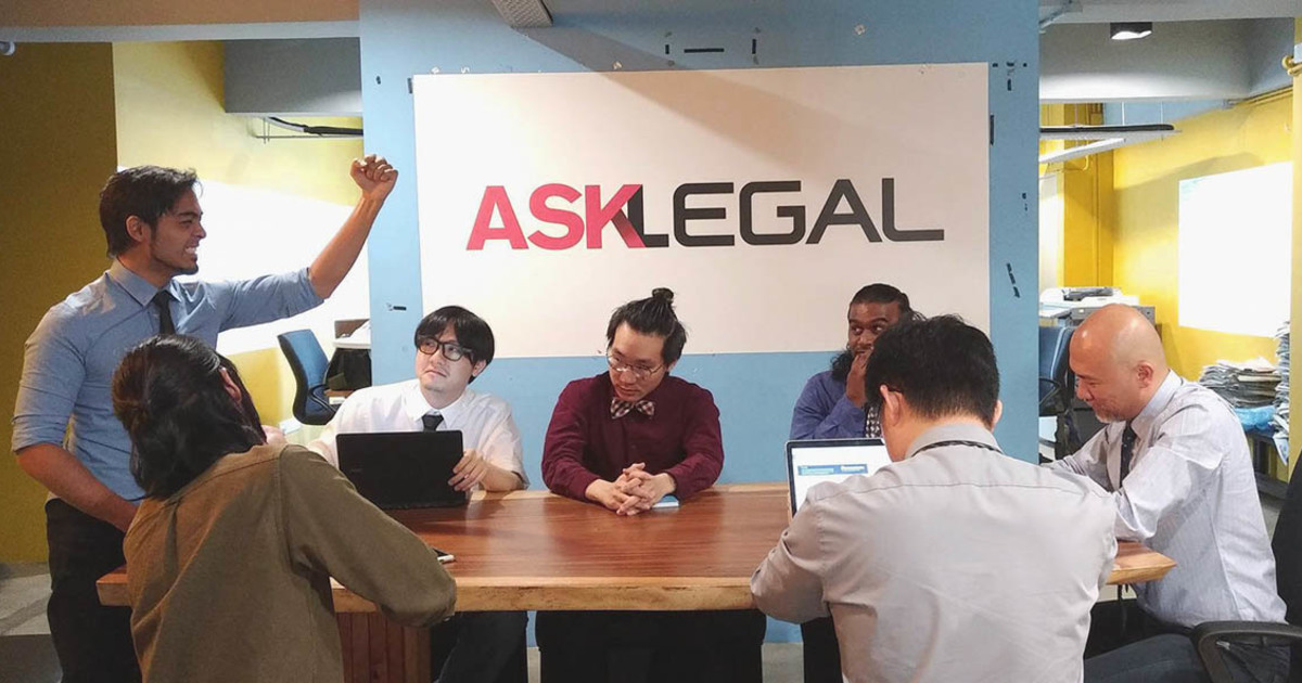 Home banner asklegal s first agm