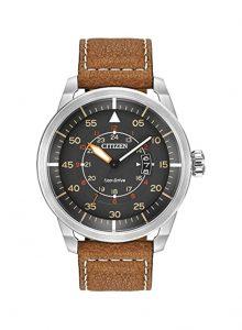 ساعة يد سيتيزن اكو درايف افيون | Citizen Eco-Drive AW1361-10H Avion Watch