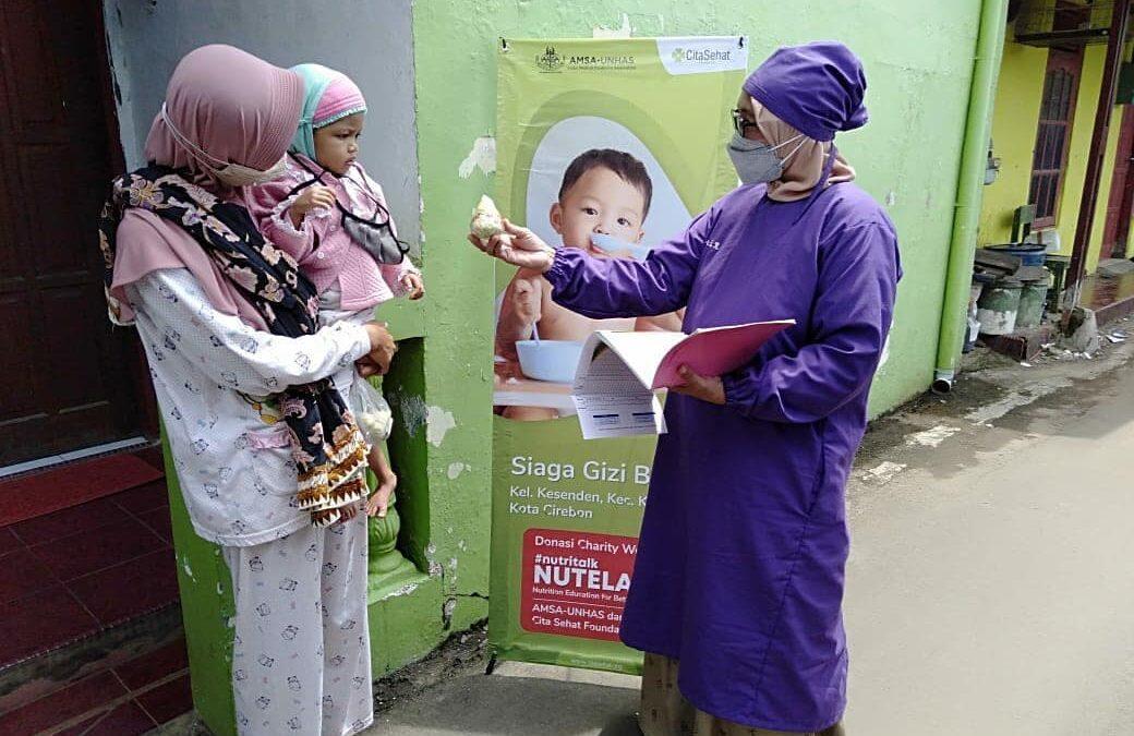 HEALTHY DESIRE WITH AMSA UNHAS MONITORING THE NUTRITION OF CHILDREN IN POSYANDU CEMPAKA, KESENDEN CIREBON