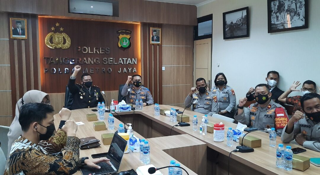 SUPPORT OF COVID 19 VACCINE HEALTH PERSONNEL AND POLRES TANGERANG SELATAN.
