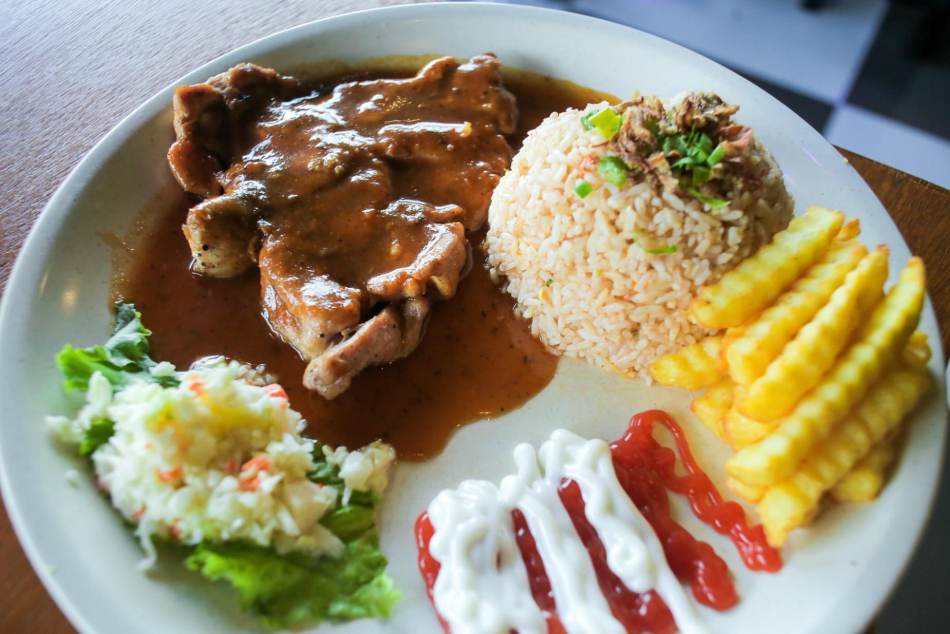 Resepi Nasi Goreng Chicken Chop