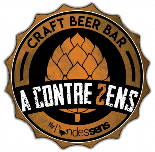 logo A Contre Sens - Craft Beer Bar & Shop