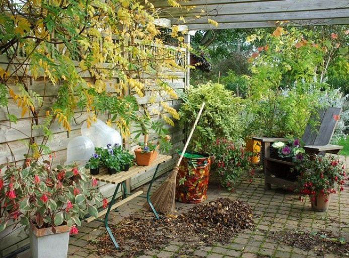 jardin entretien espaces extérieurs Vendée