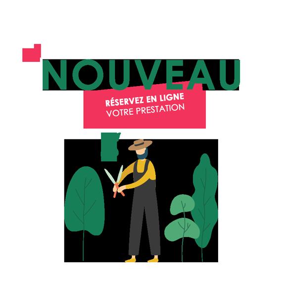jardinage réservation prestations en ligne Vendée