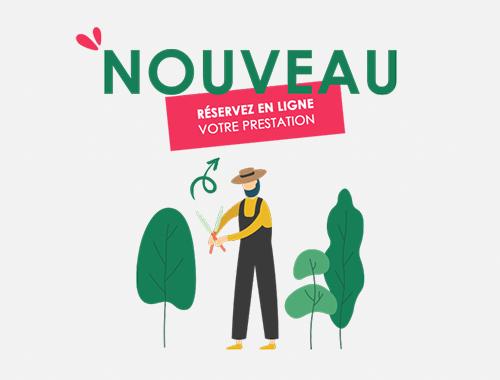 jardinage réserver en ligne Vendée