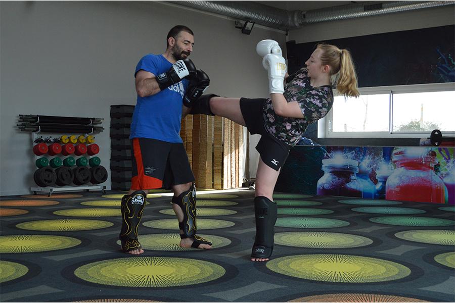 cardio-kickboxing combat Bressuire