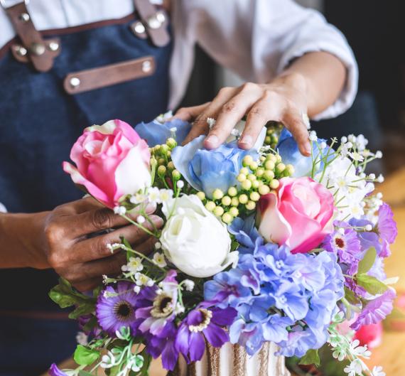 Fleurs coupées et compositions florales | La Serre Tixier, Jardinerie Horticulture