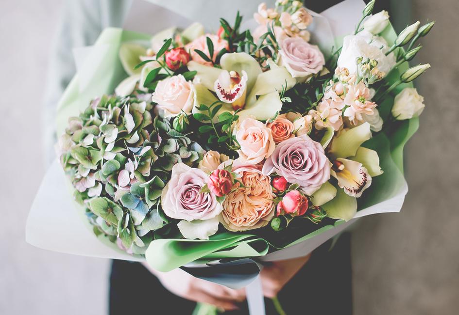 Fleurs coupées et compositions florales