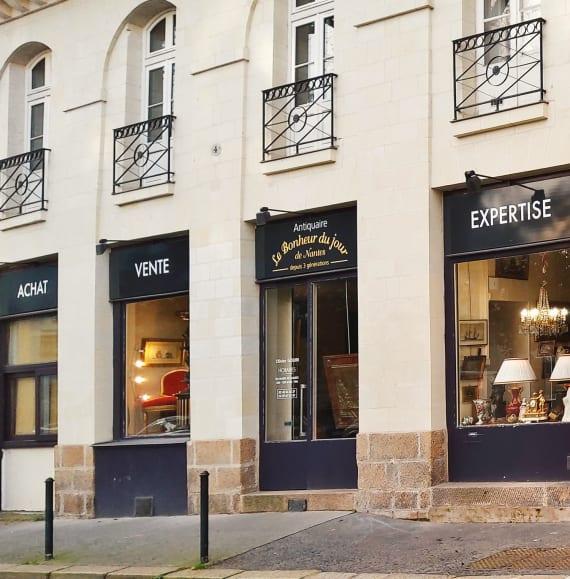 CONTACT - Le Bonheur du jour de Nantes | Antiquaire d'art à Nantes