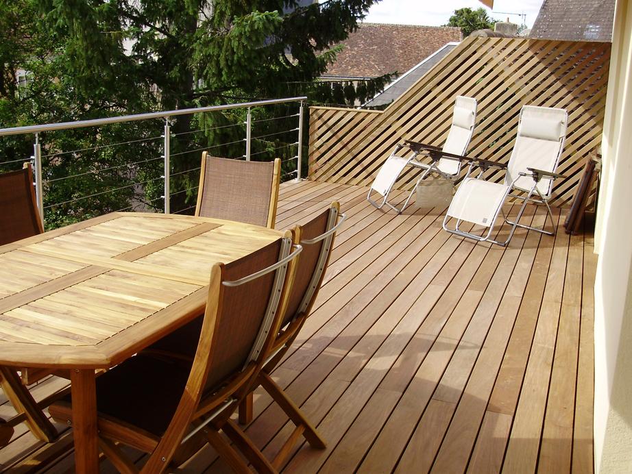 Les terrasses <b>en bois</b>