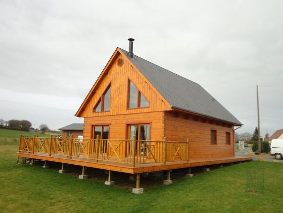 Maison en bois   M' Le Bois - Sarthe