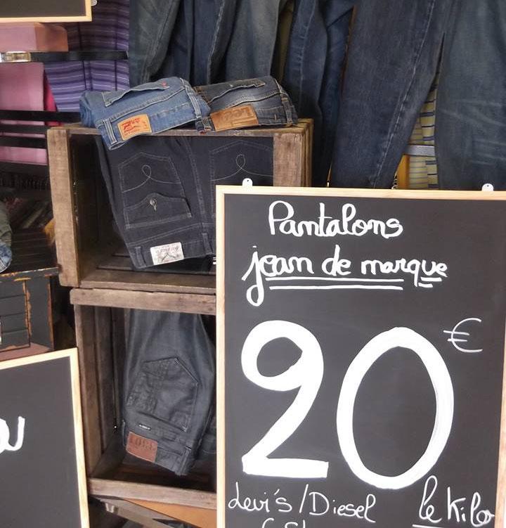 vêtements au kilo Le Mans