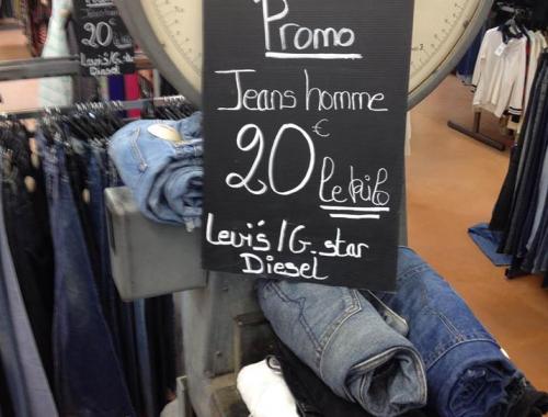 promo jeans marques Le Mans