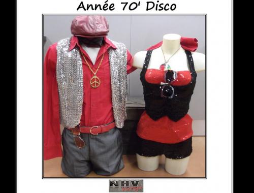 années 70 disco Le Mans