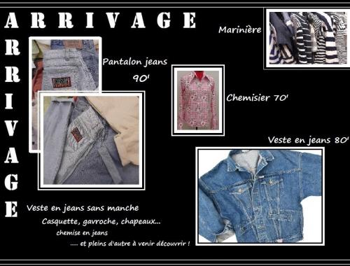 vêtements vintage Le Mans