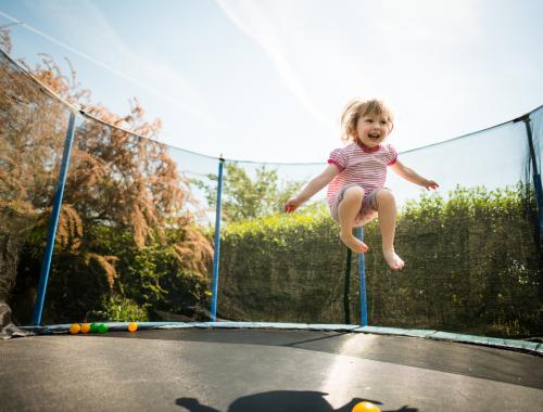 Les bienfaits du trampoline
