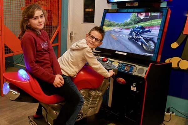 Jeux arcade moto