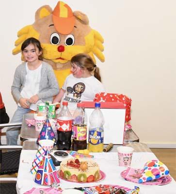 Table anniversaire Schatzi Park