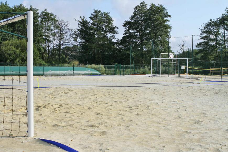 Schatzi Park : terrains beach soccer