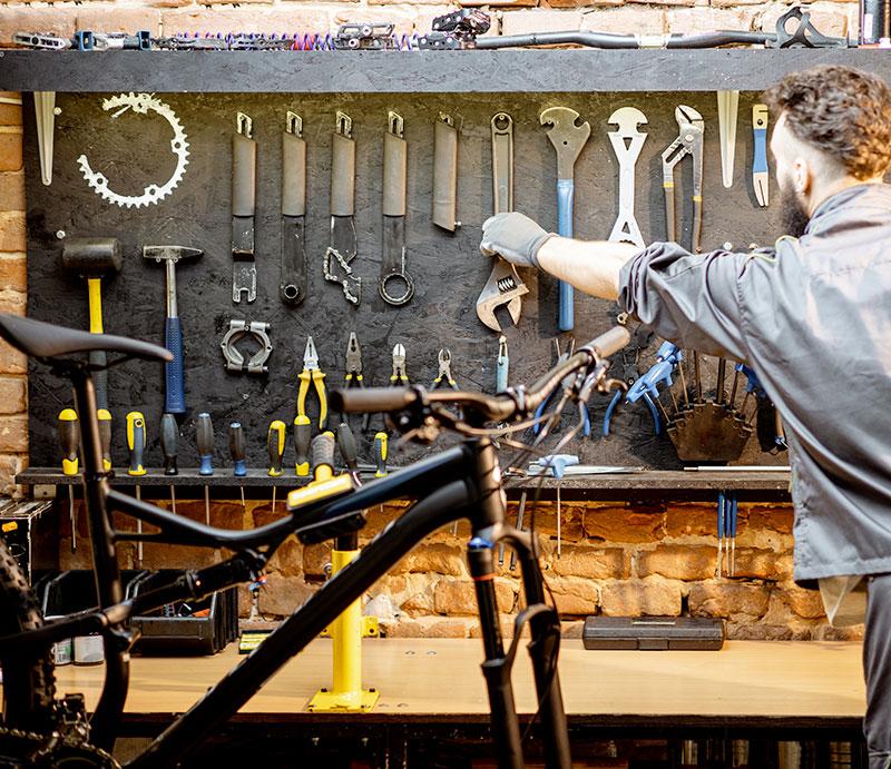 Réparation vélos