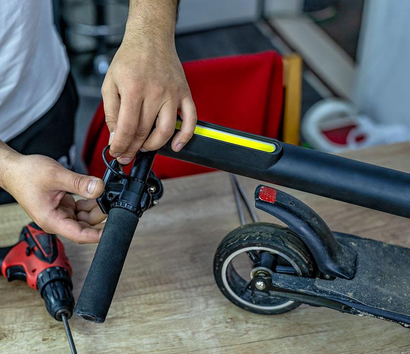 Réparation motocycles