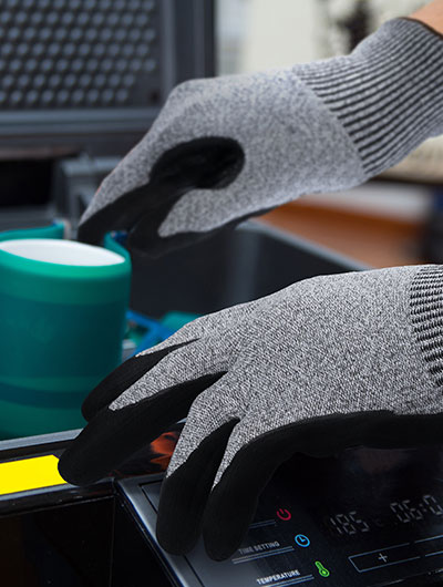 advansafety home page industrial gloves manufacturing welding B37