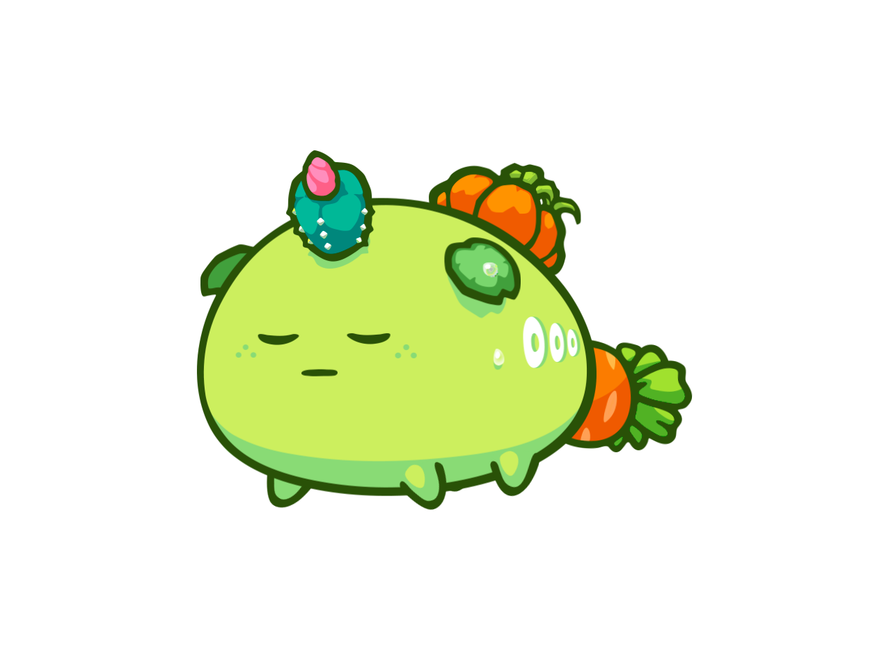 Axie #258115 100% Pure Fighting Tank