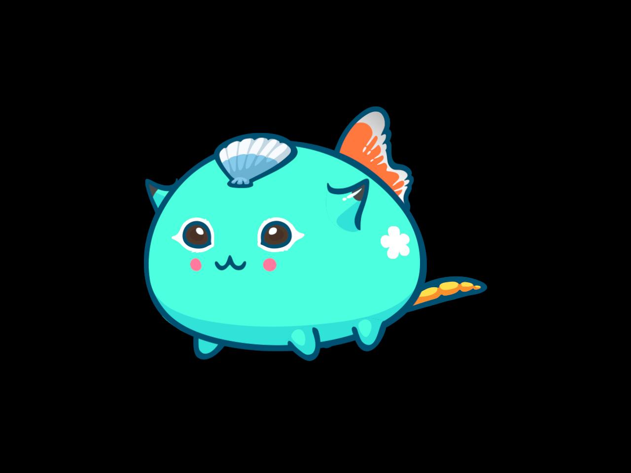 Axie #4538124 VelocyFish