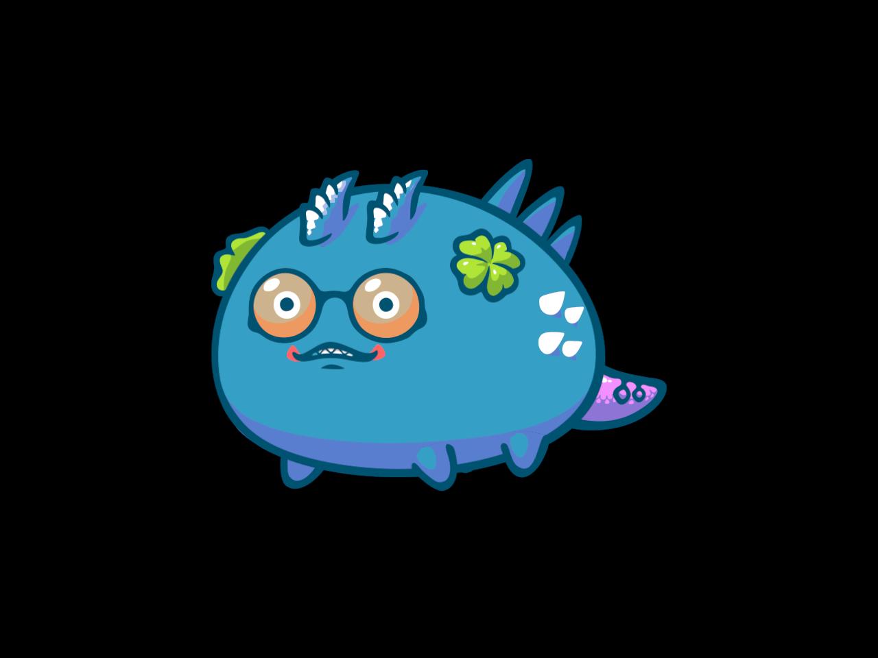 Axie #4583332 Axie Super Rare Meta 2K  Anti Fish