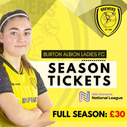 Ladies Season Ticket