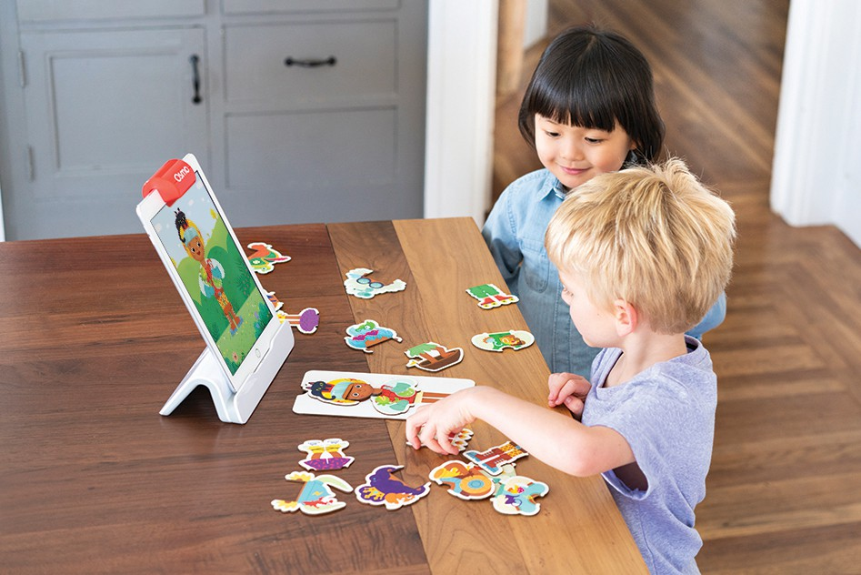 Creativity Imagination with Osmo Little Genius Stories game