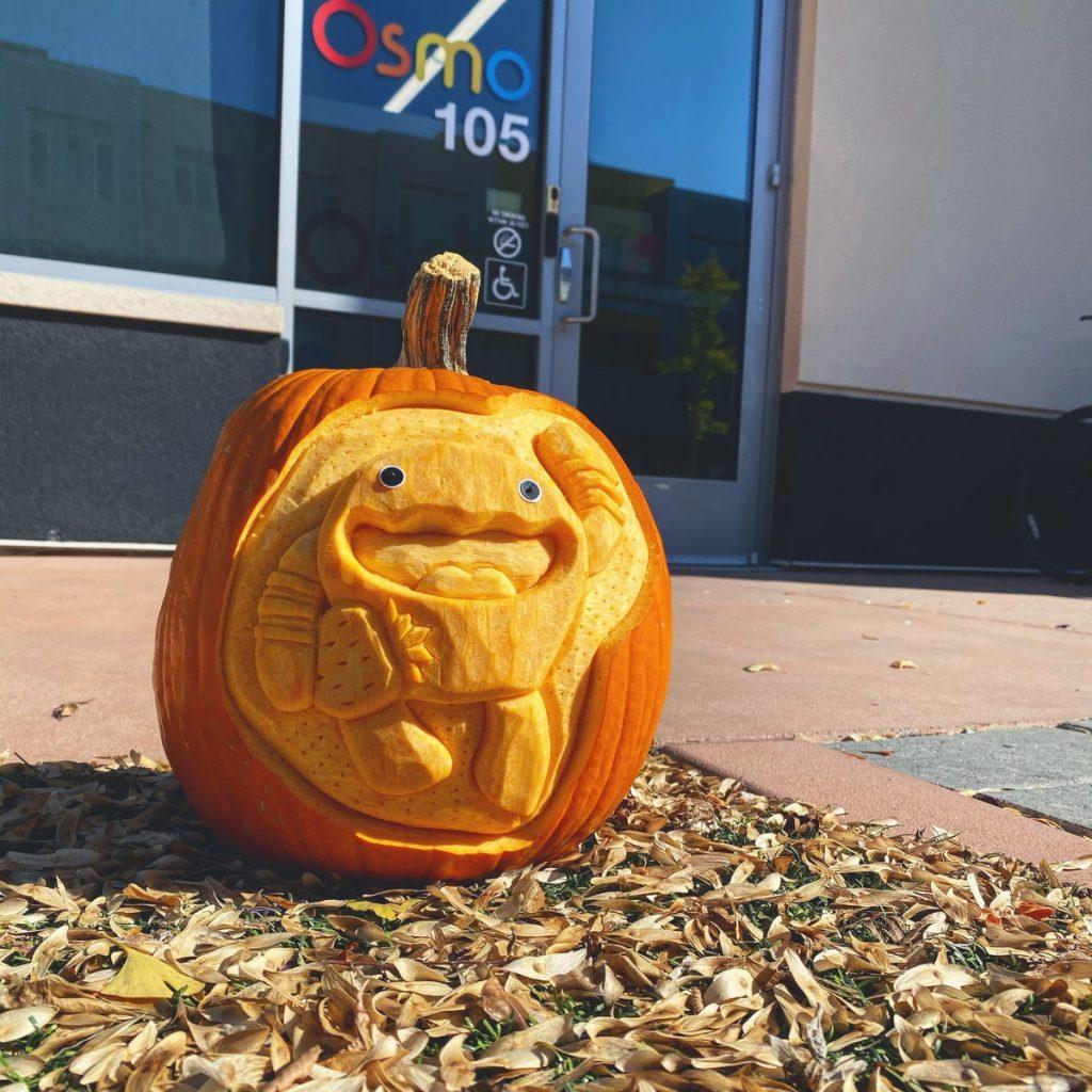 Fun Time at Osmo Office - Halloween