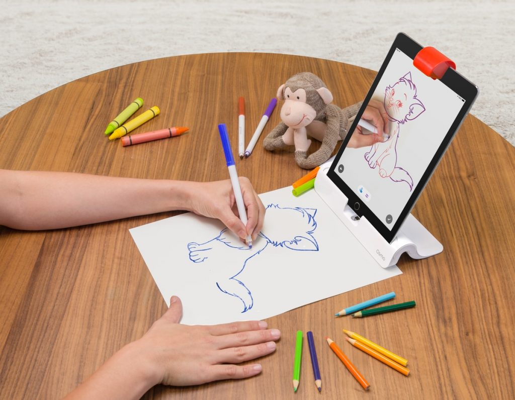 Drawing Skills with Osmo iPad Games