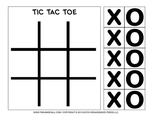 Tic Tac games, Educational Learning Games for Kids