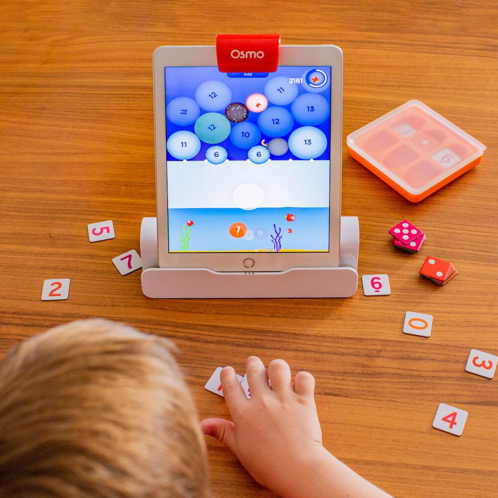 Avec Osmo Numbers le calcul mental devient un jeu d'enfant