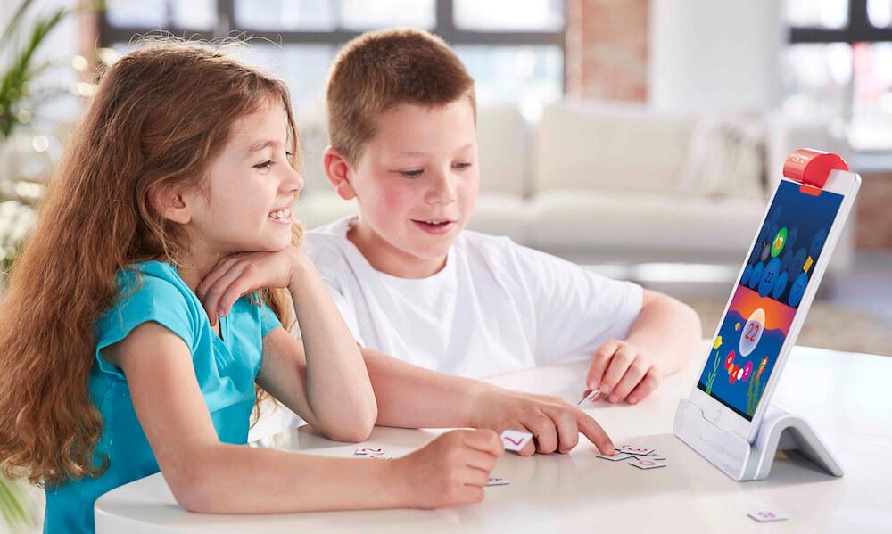 A plusieurs enfants, aussi, les maths sont un jeu avec Numbers d'Osmo