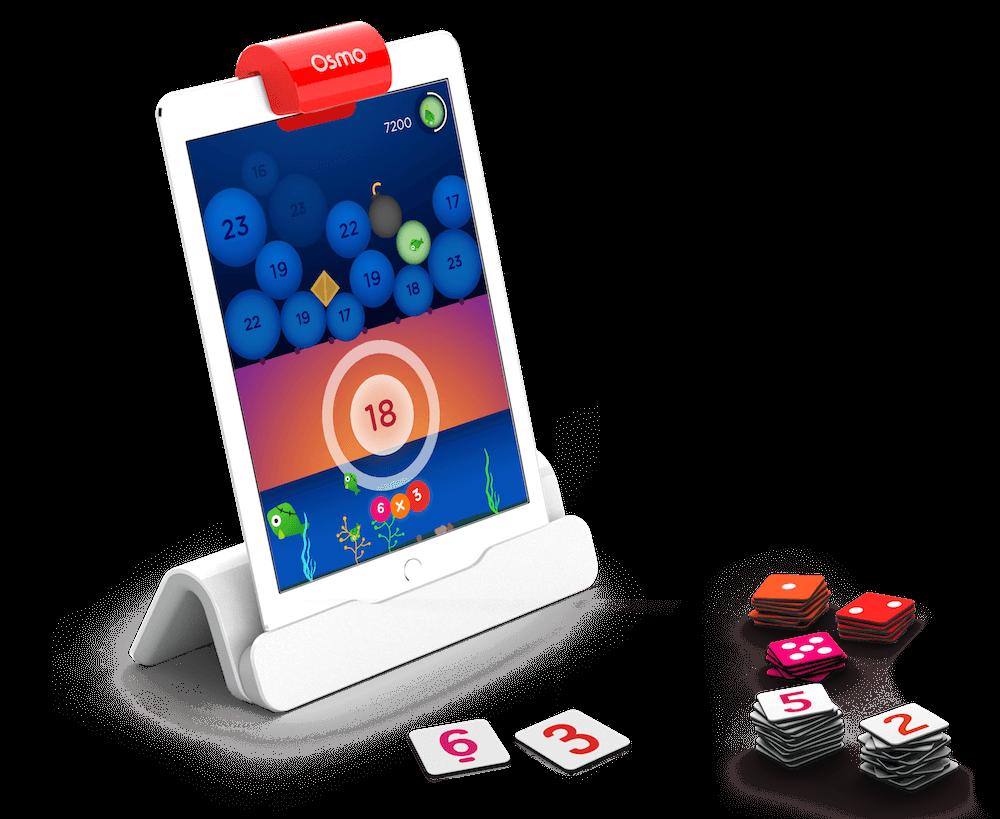 Le jeu Numbers d'Osmo : jouer aux maths avec sa tablette