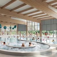 Centre aquatique durable