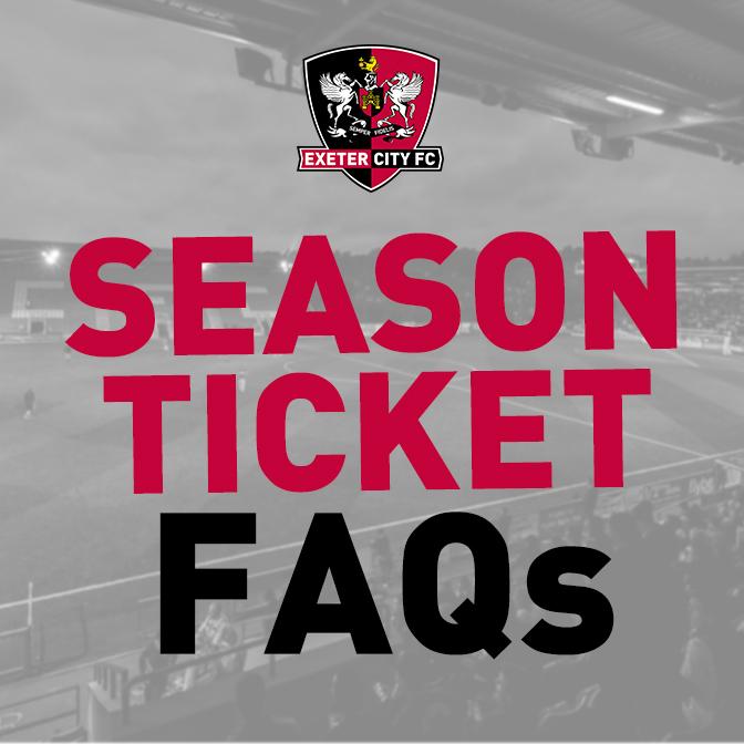 Season Ticket Information