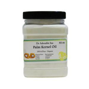 Pure Organic Palm Kernel Oil (Elaeis Guinensis)